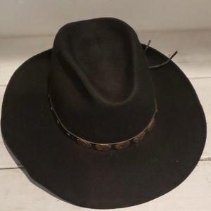 Golden Gate copper accent cowboy hat